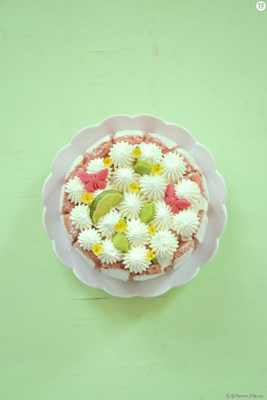 Le gâteau fleurs de Maman Pâtisse