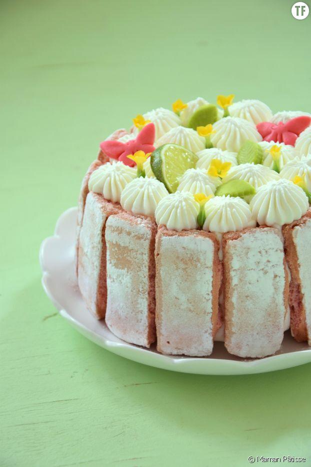 Recette du gâteau fleurs