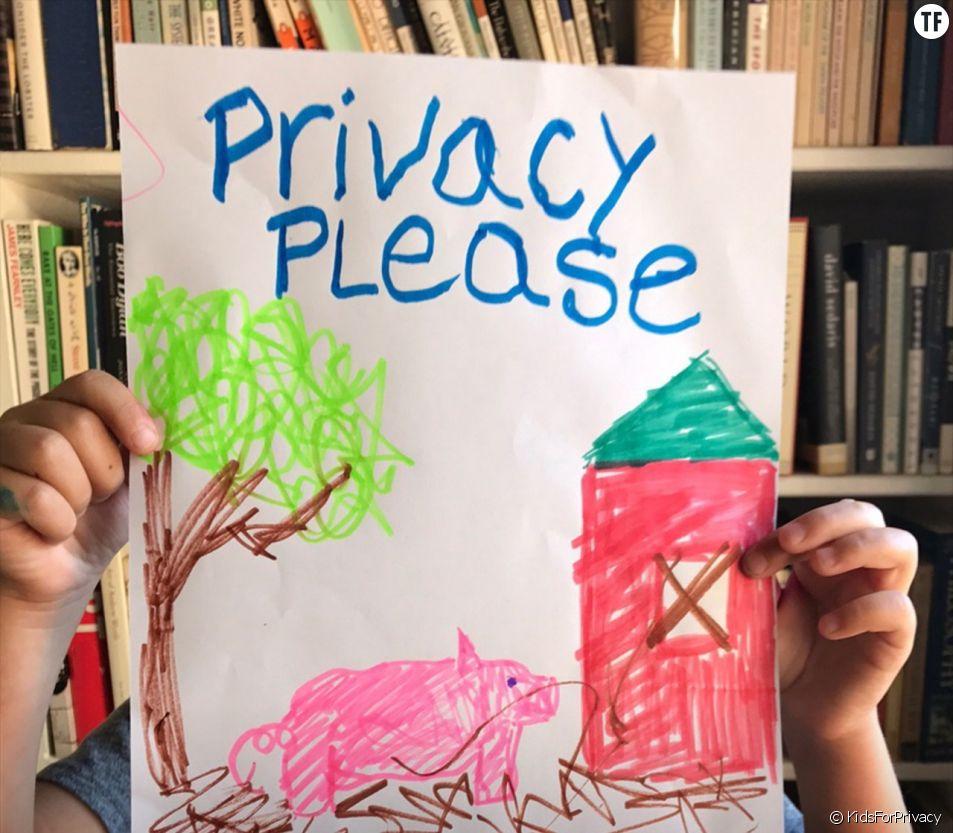 Vos photos peuvent mettre en danger vos enfants : la campagne de prévention choc