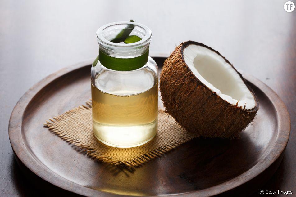 Evitez d'utiliser de l'huile de coco sur votre visage