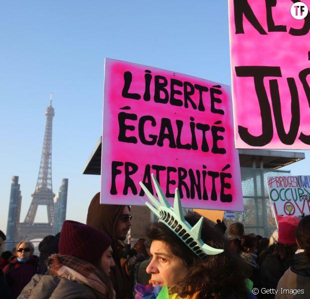 Manifestation féministe le 21 janvier 2018