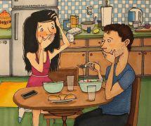 Cette illustratrice dessine l'intimité du couple longue durée (et c'est chou)