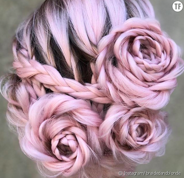 Le Braided Rose Hairstyle, la nouvelle tendance coiffure