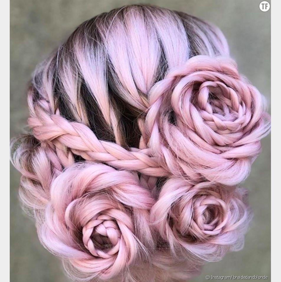Le Braided Rose Hairstyle, la nouvelle tendance coiffure