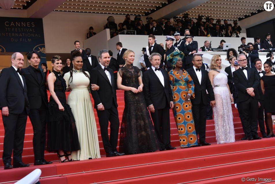 Gala d'ouverture du 71e Festival de Cannes au Palais des Festivals le 8 mai 2018 à Cannes