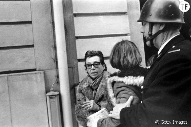 Marguerite Duras avec Jean Genet, à Paris, mai 1968