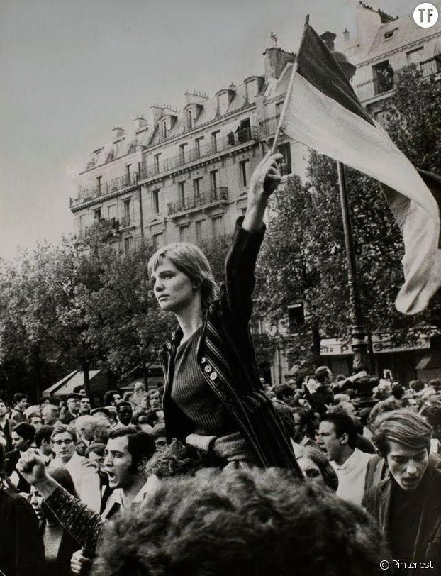 Caroline de Benderm, 13 mai 1968, Paris.