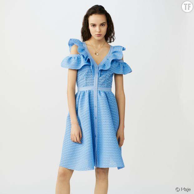 Une robe Maje pour un mariage