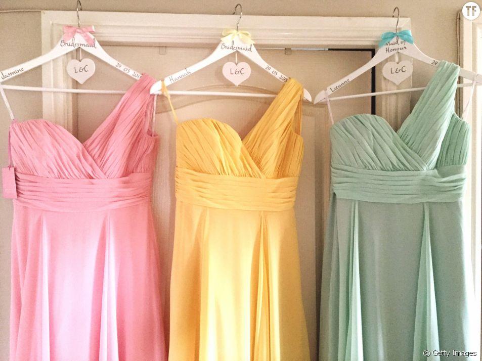 Des robes colorées à porter à un mariage