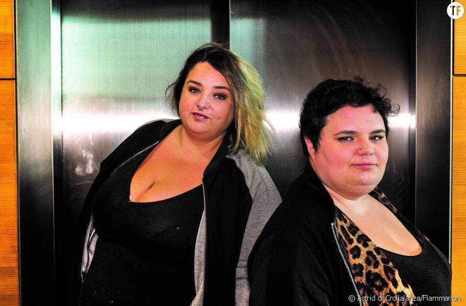 """Les autrices de """"Gros n'est pas un gros mot"""" Daria Marx à gauche et Eva Perez-Bello à droite"""