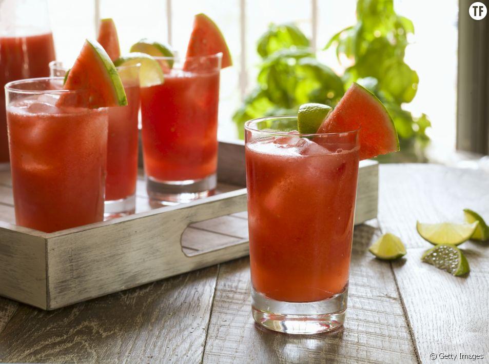 La recette du mocktail à la pastèque