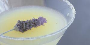 La délicieuse recette du gin fizz à la lavande