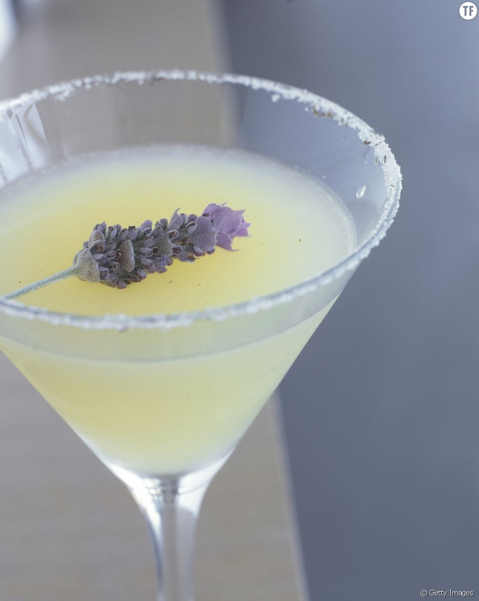 La recette du cocktail à la lavande