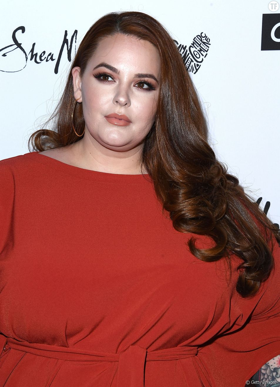 Tess Holliday le 27 avril 2018