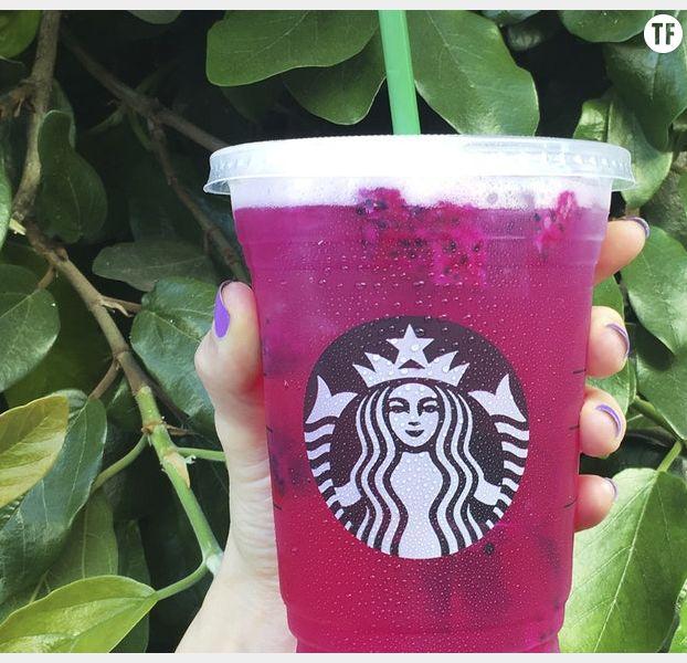 Mango DragonFruit Refresher, la boisson la plus instagrammable de l'été par Starbucks