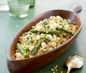 La recette facile du risotto de quinoa