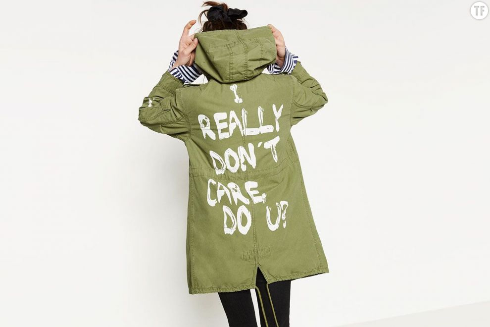 """I really don't care, do u ?"", la veste de Melania Trump intrigue"