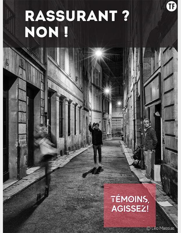 La campagne contre le harcèlement de rue de la ville de Bordeaux incite les témoins à agir
