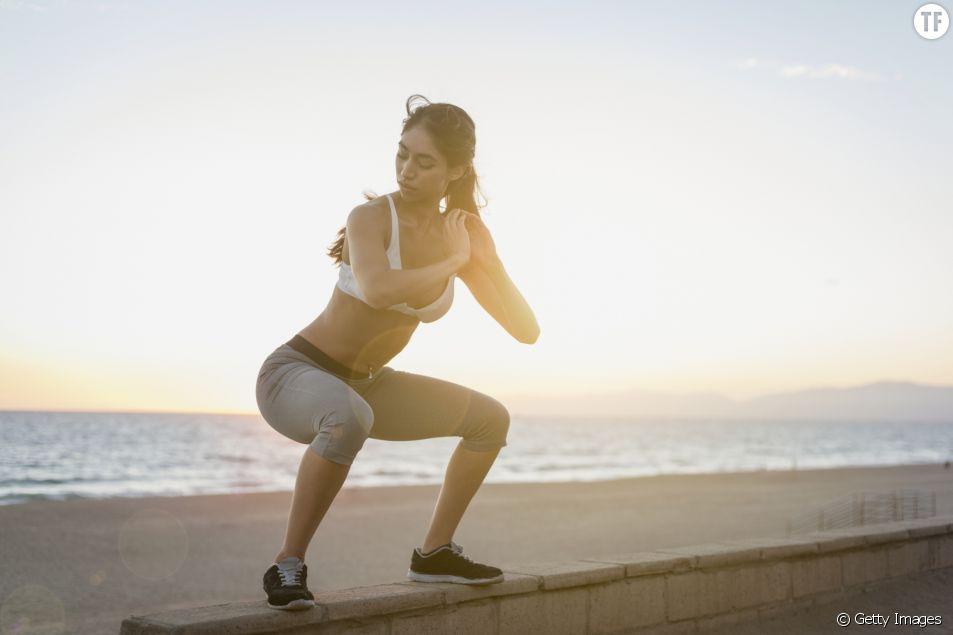 Les exercices de fitness à faire à la plage