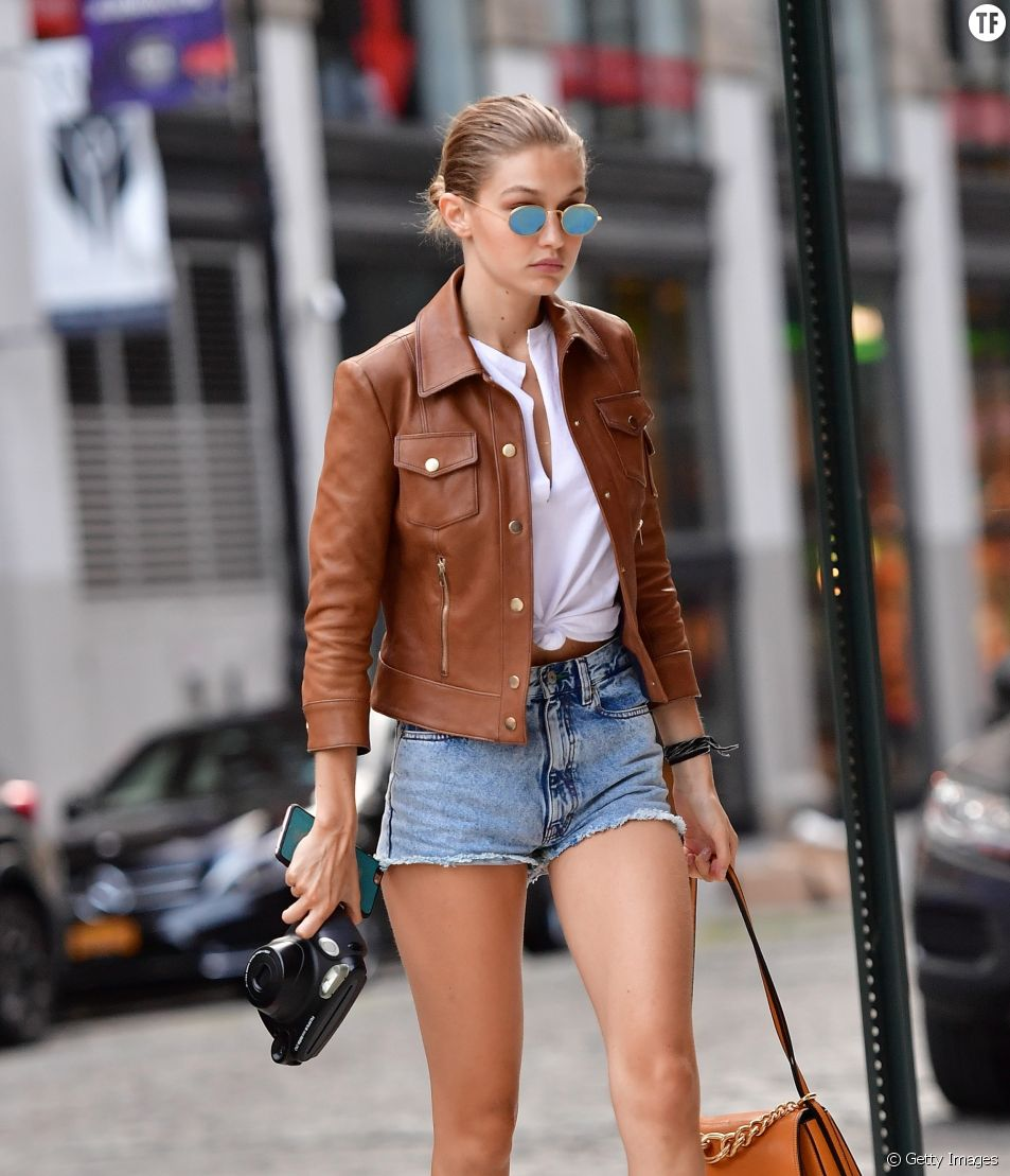Peut-on être chic en short en jean ?