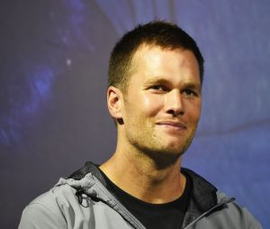 Le joueur de football américain Tom Brady