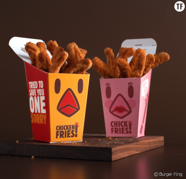 Burger King s'engage contre la taxe rose