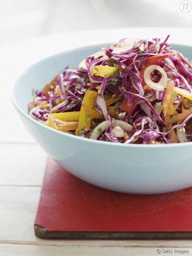Une salade de chou