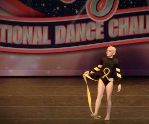 A dix ans et atteinte d'un cancer, elle gagne un concours de danse