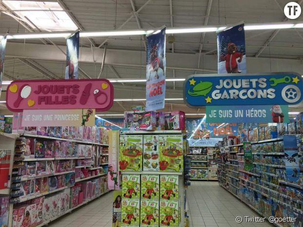 Les jouets genrés dans les magasins