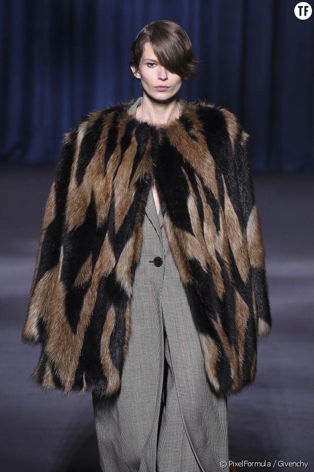 La fausse fourrure, Givenchy