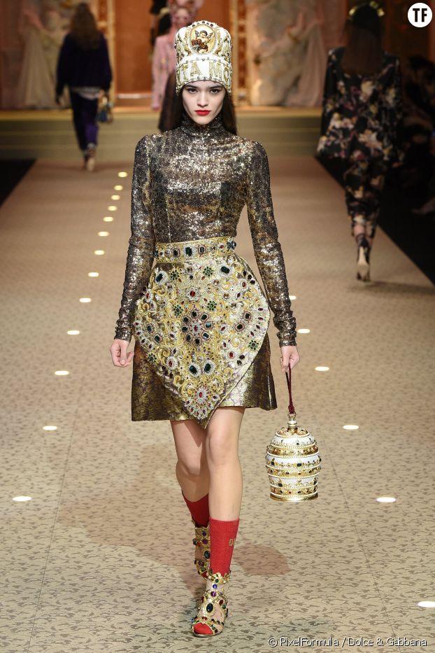 Le glitter, Dolce & Gabbana