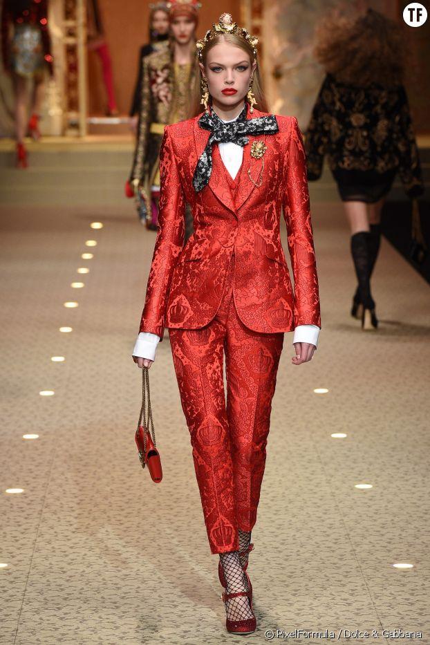 La tenue de travail, Dolce & Gabbana