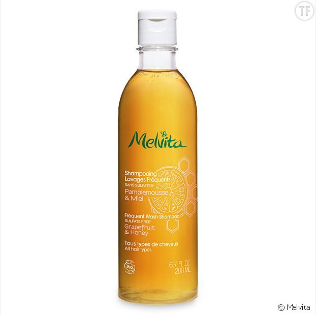 Shampoing lavages fréquents, Melvita