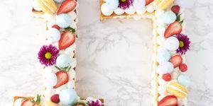 La recette facile du number cake