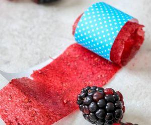 La recette du ruban de fruits en deux ingrédients