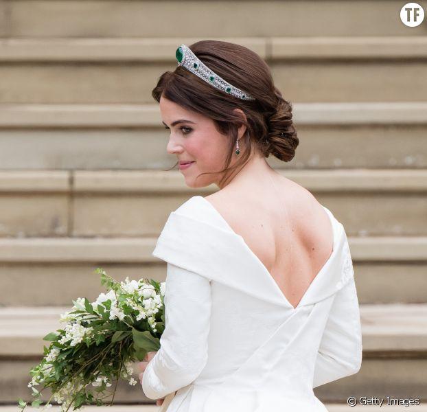 La princesse Eugenie a affiché fièrement sa cicatrice dans le dos à son mariage