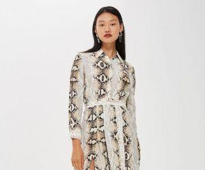 La robe python Topshop ou le conformisme résumé en un vêtement