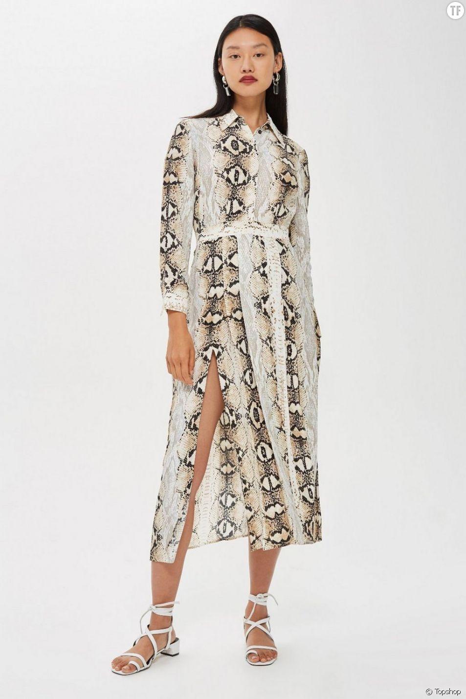 La robe python Topshop, ou le conformisme résumé en un vêtement