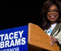Oprah monte au créneau pour Stacey Abrams, première candidate noire au poste de gouverneuse