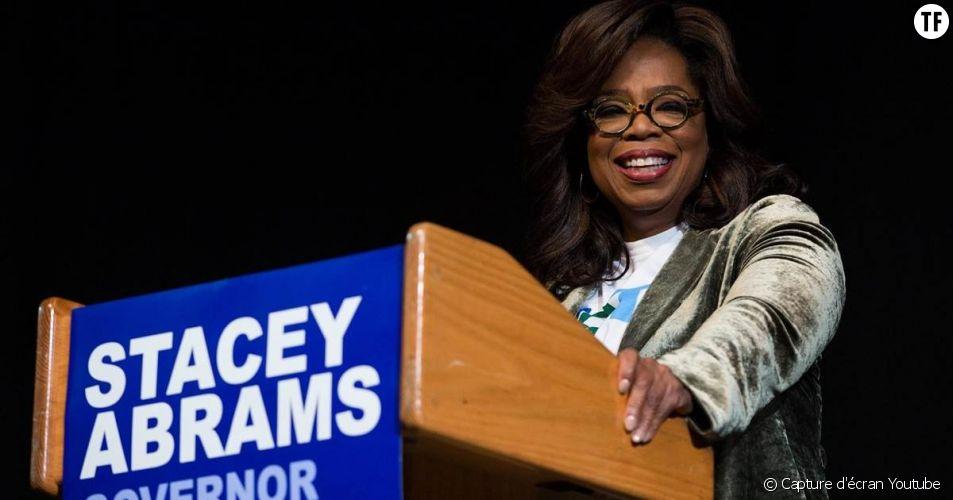Midterms : le discours inspirant d'Oprah Winfrey en soutien à la candidate Stacey Abrams