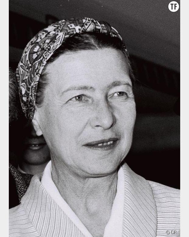 Simone de Beauvoir en 1967