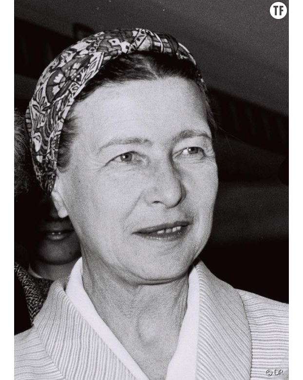 Simone de Beauvoir en 1967