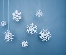 DIY de Noël : comment faire un flocon de neige avec des pièces de puzzle