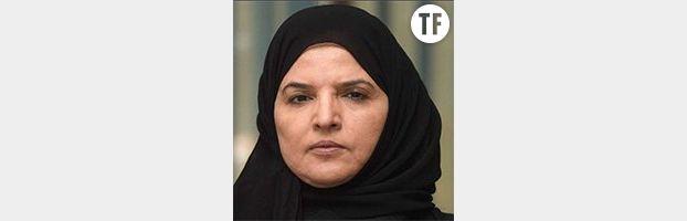 La militante Aziza al-Yousef