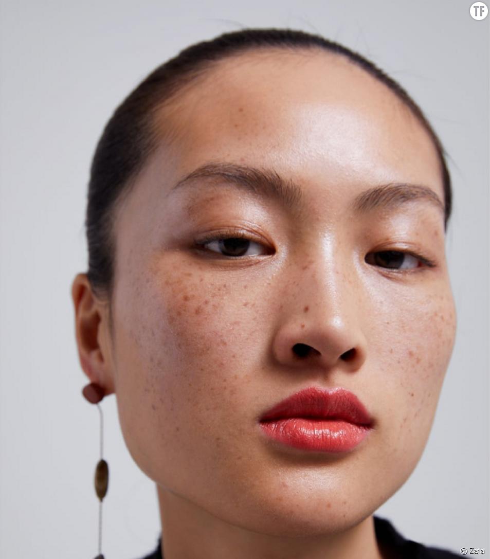 Jing Wen pose pour Zara Chine