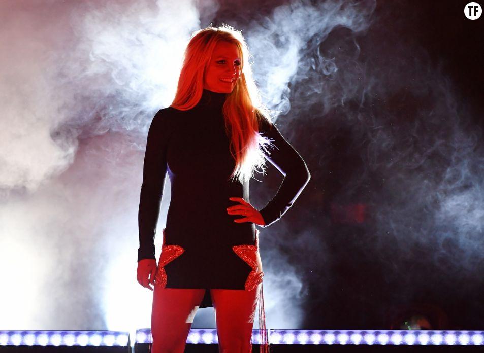 Britney Spears le 18 octobre 2018 à Las Vegas