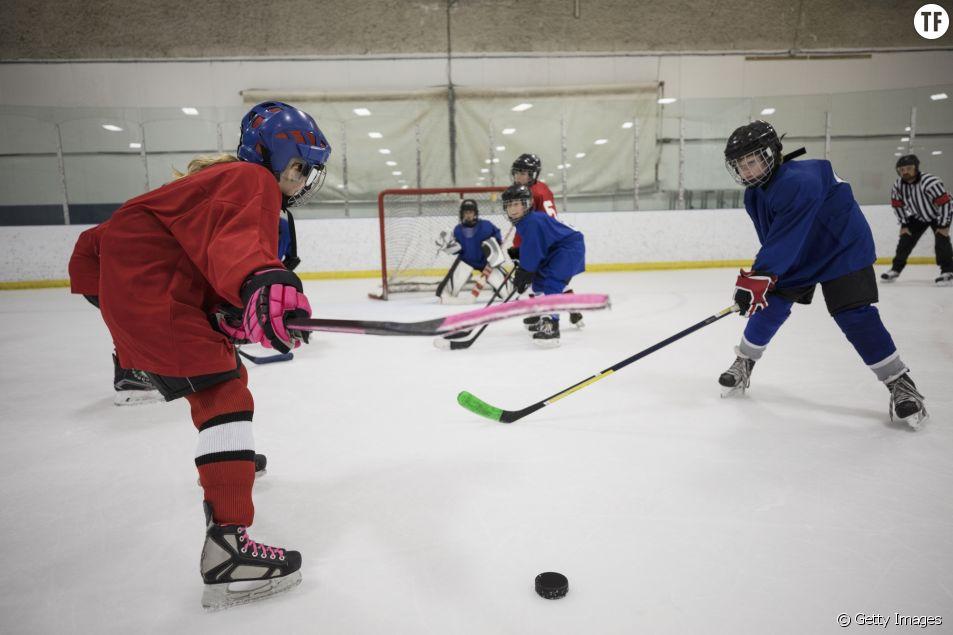 Image d'illustration Hockey sur glace fille