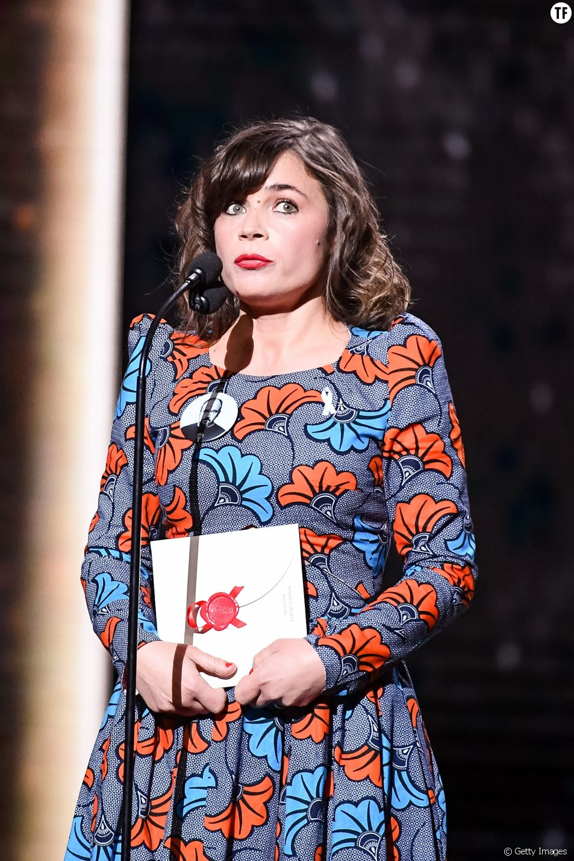Blanche Gardin à la cérémonie des César le 2 mars 2018