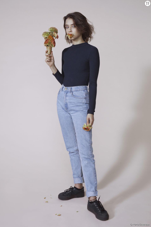 La chanteuse Pomme