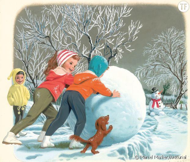 Martine à la neige